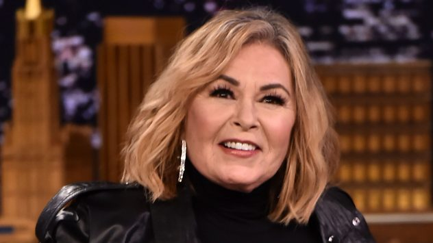 "Roseanne Barr Visits ""The Tonight Show Starring Jimmy Fallon"""