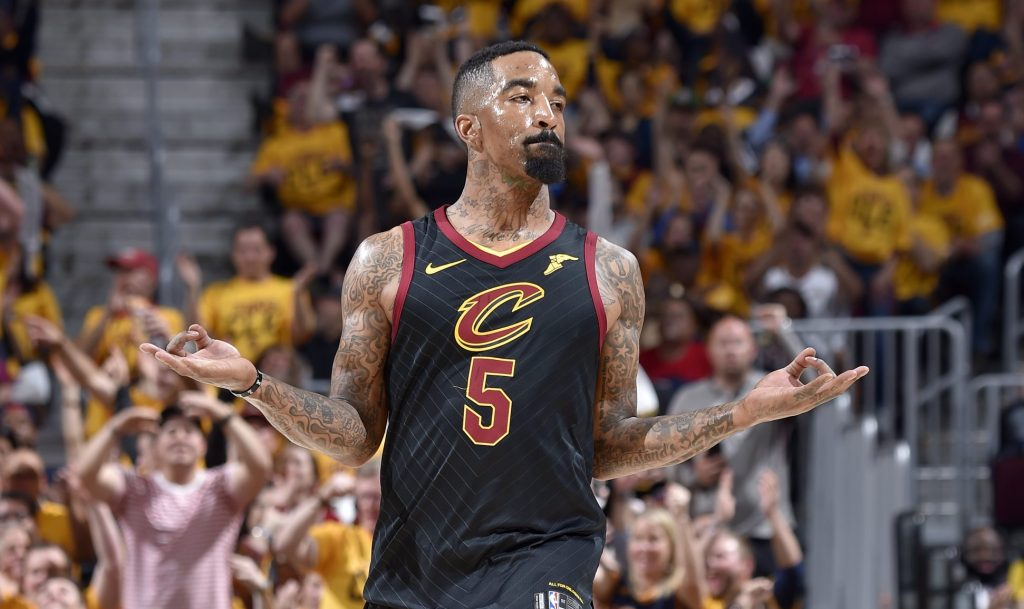 1e061c9a4dc J.R. Smith shows signs of life for Cavaliers