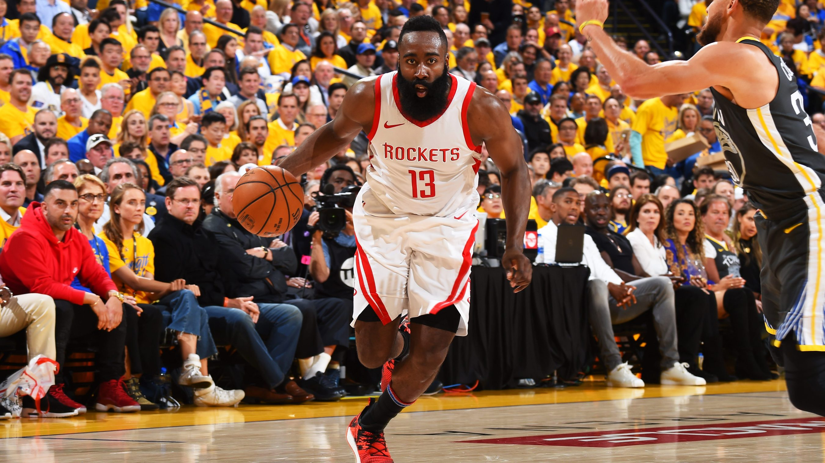 6438b72ad3e James Harden isn t celebrating after Rockets  Game 4 win — he s focusing