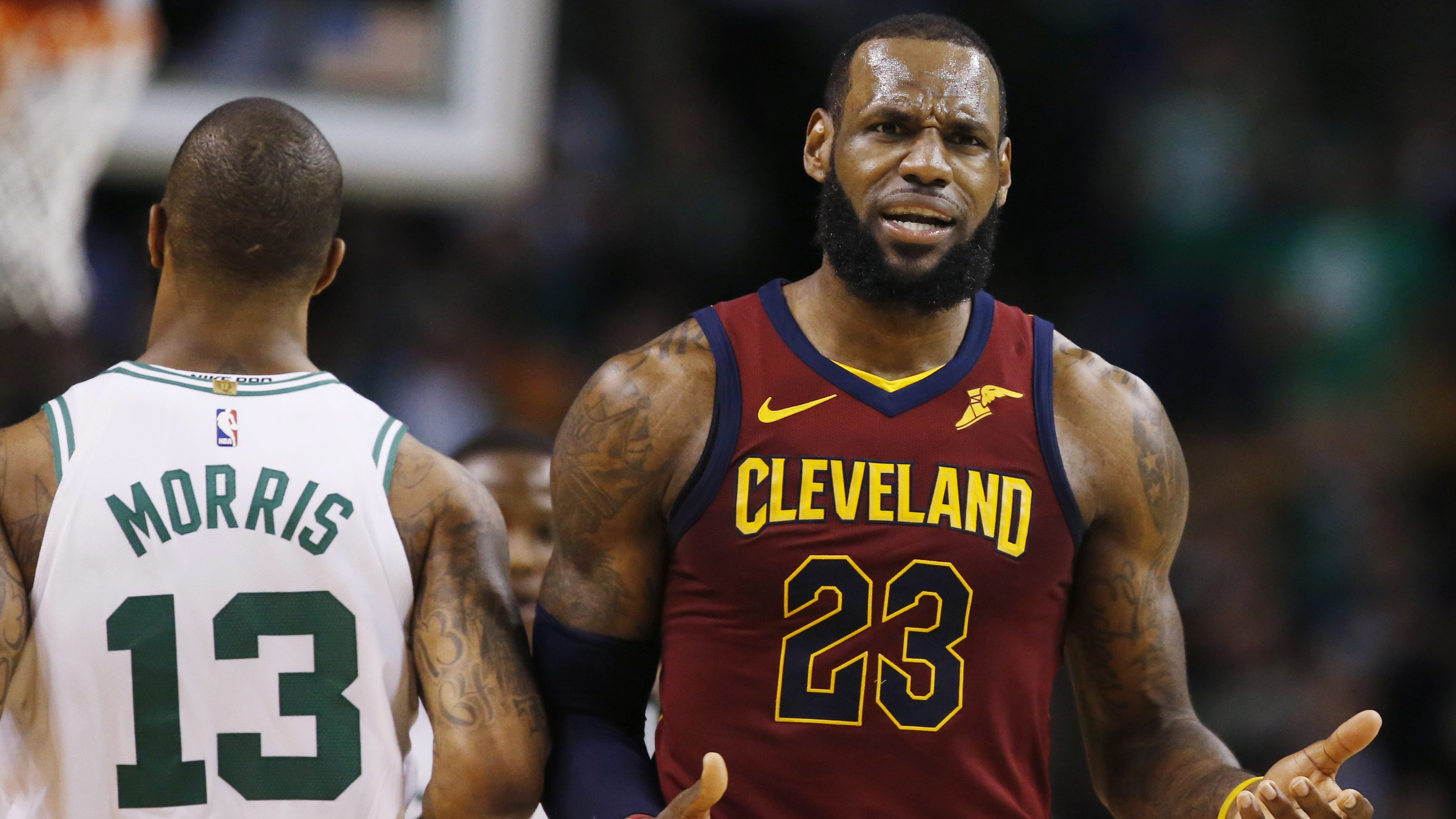 LeBron James,Marcus Morris