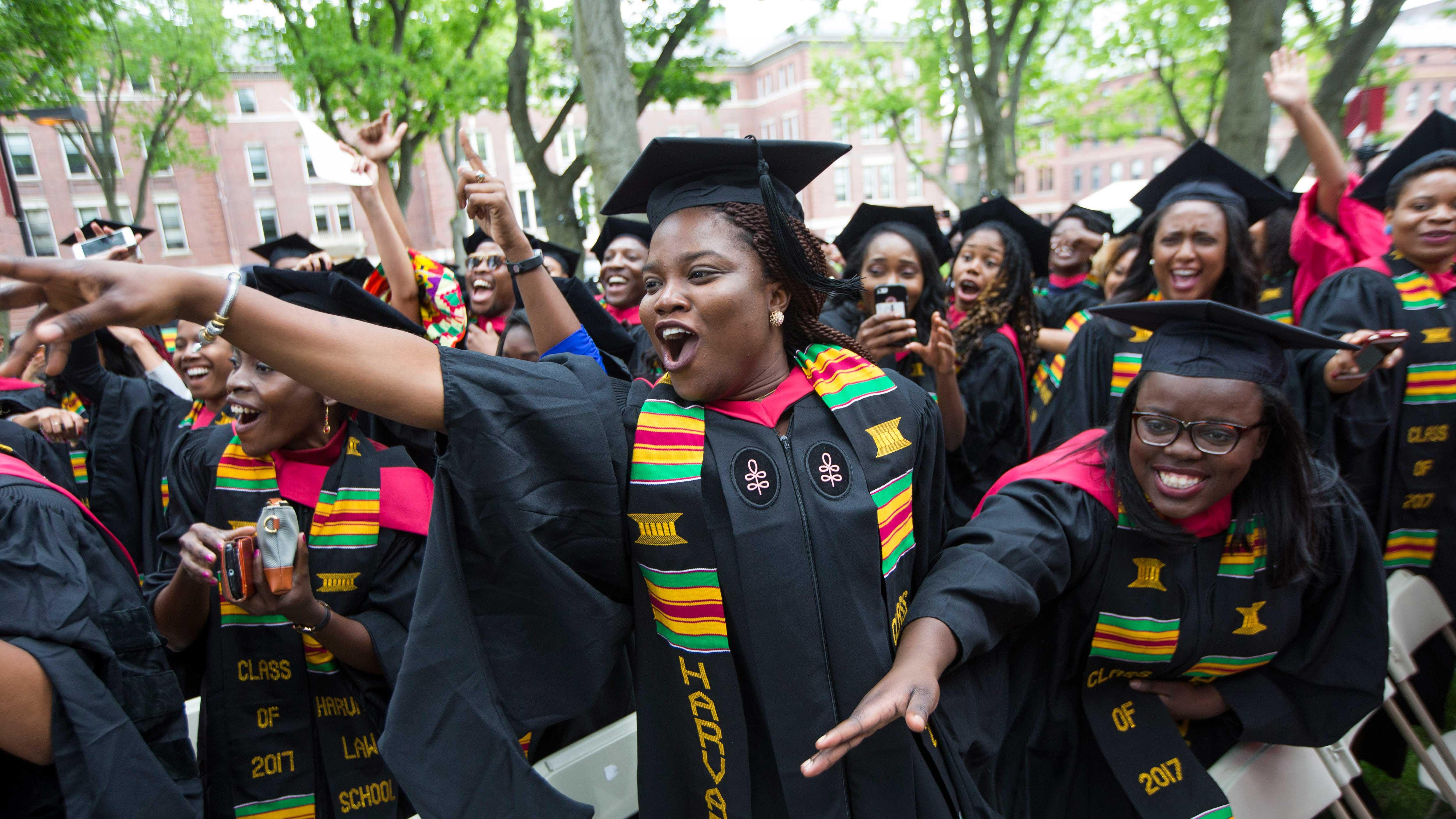 Harvard University Black Commencement
