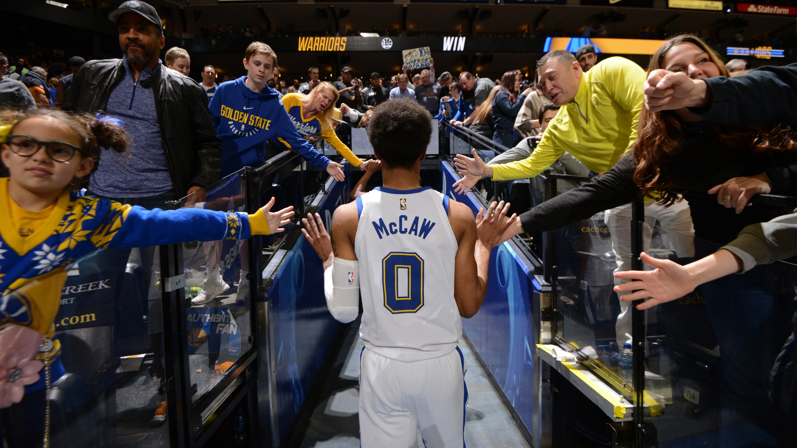 beb00abbe Warriors  Patrick McCaw holds out hope to return during playoffs