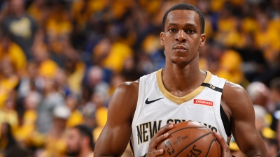 Rajon Rondo is back on point with Pelicans.   8f8728b16