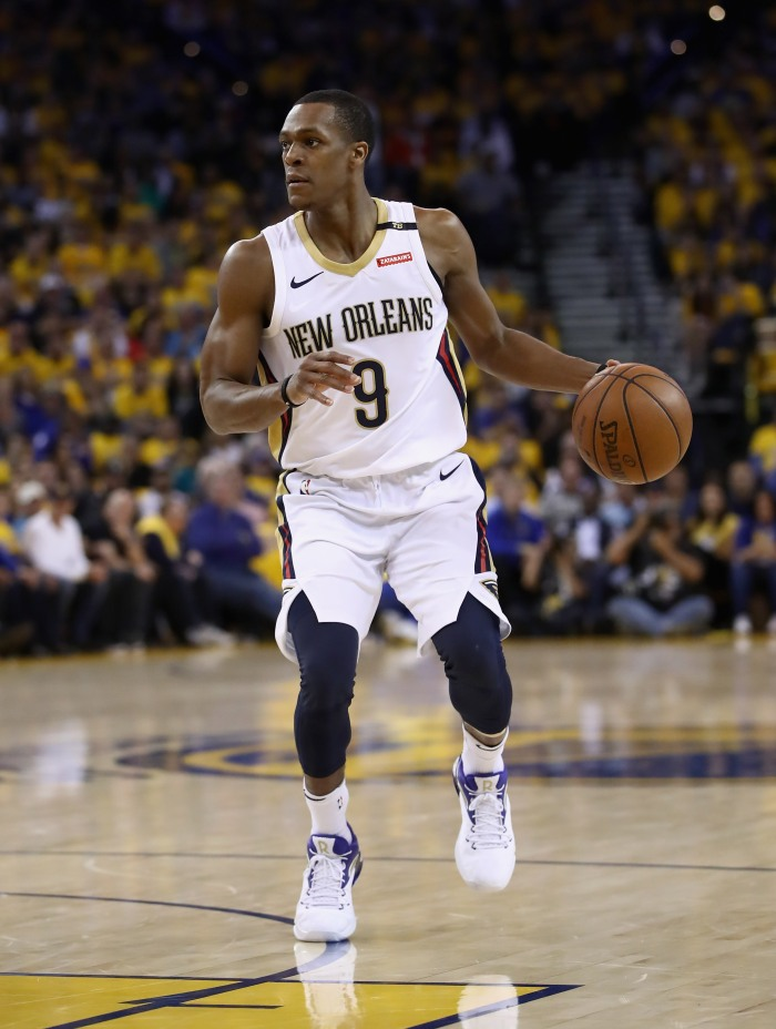 Rajon Rondo is back on point with Pelicans