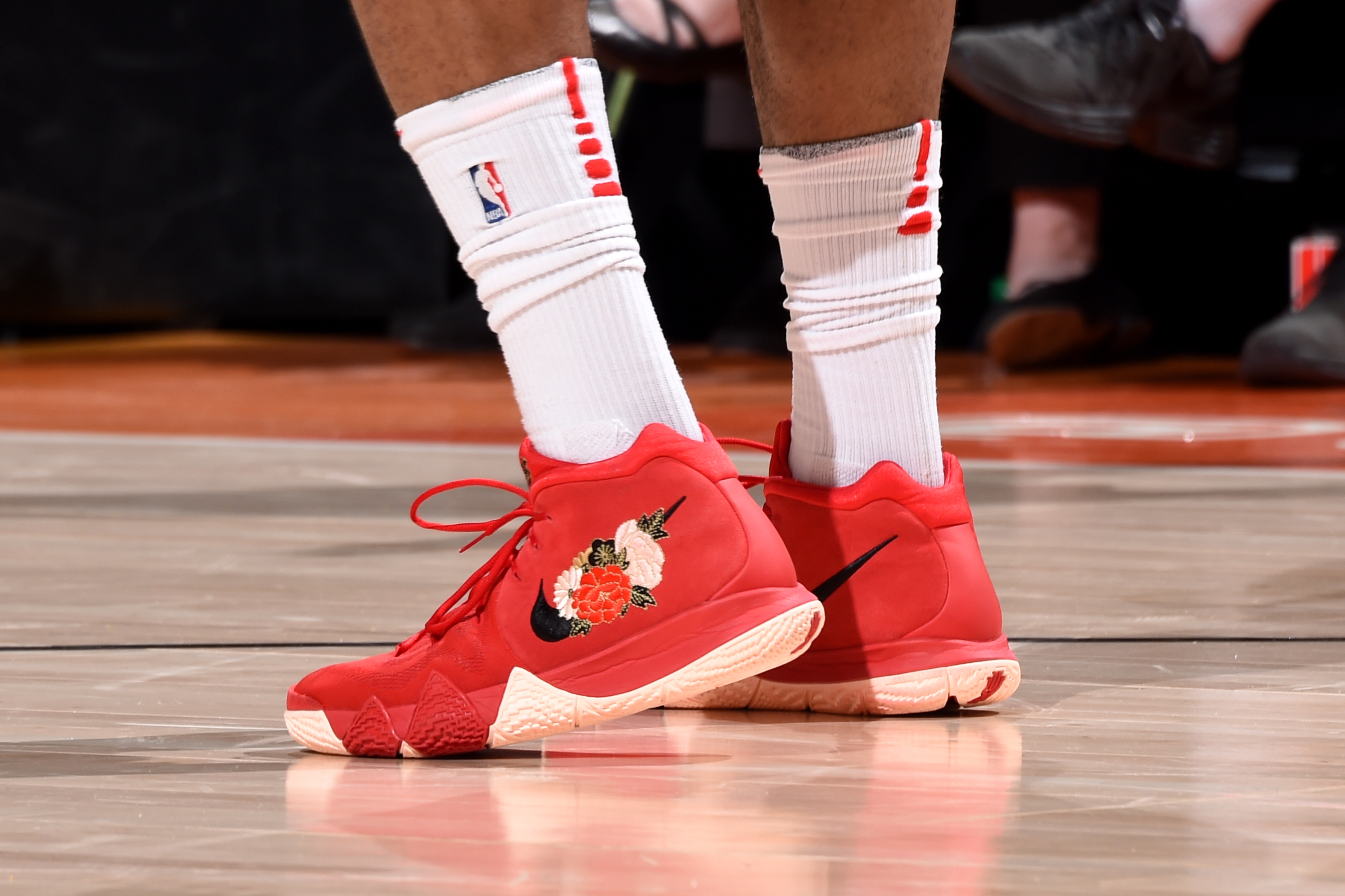 5f51468f018 The sneakers of P.J. Tucker of the Houston Rockets in Game 3 of the Western  Conference semifinals against the Utah Jazz on May 4 at the Vivint Smart  Home ...