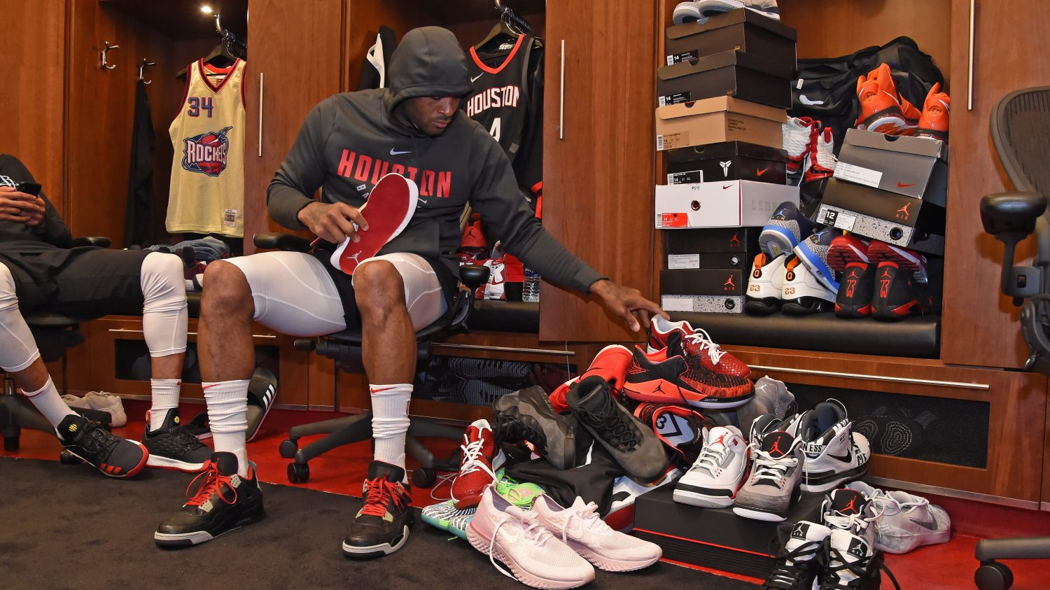 purchase cheap 5849a f0709 The complete — and insane — list of P.J. Tucker s 2018 NBA playoff sneakers