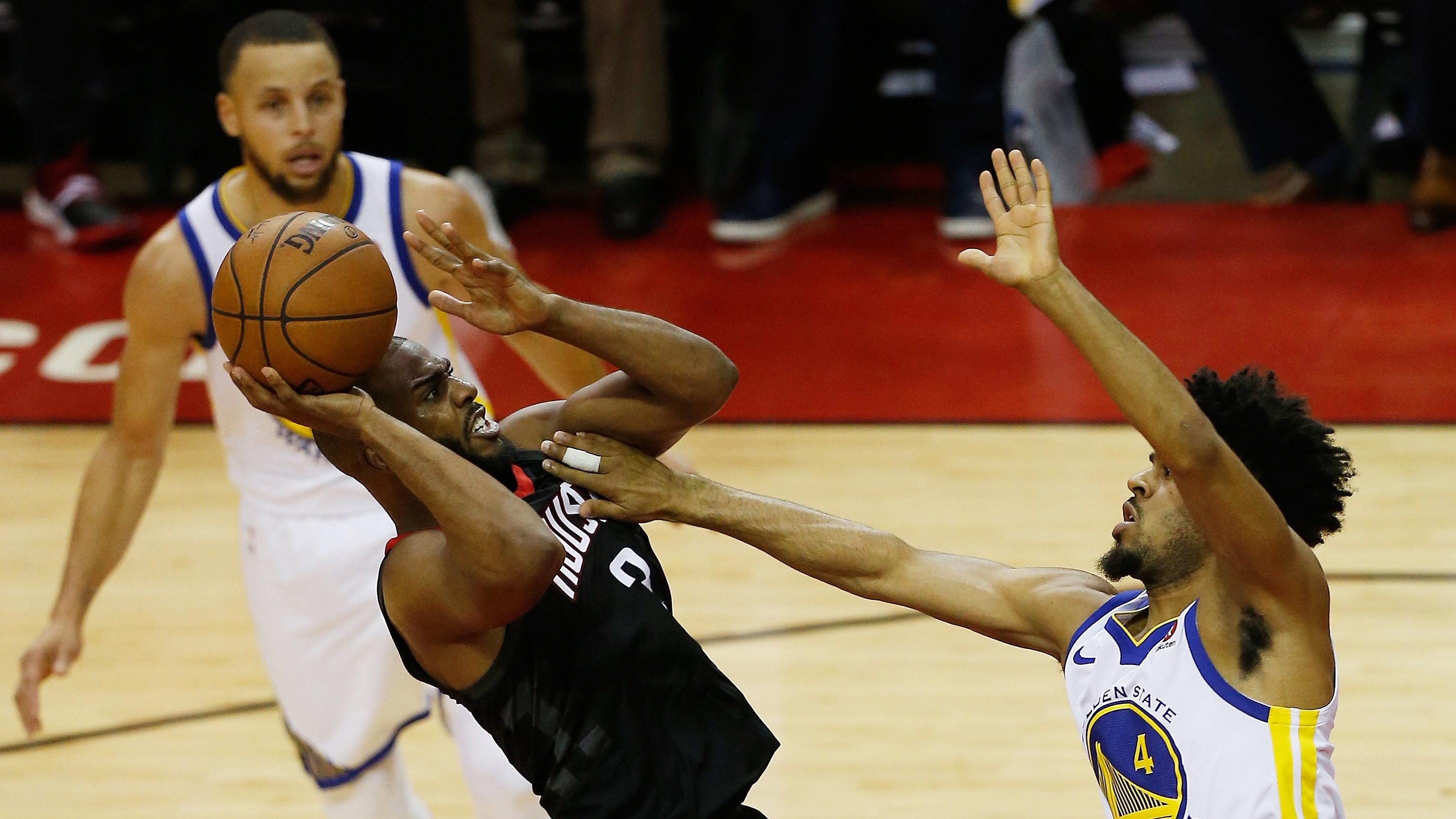 Golden State Warriors v Houston Rockets – Game Five