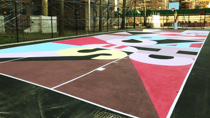 Gowanus court in Brooklyn gets a makeover thanks to TBS show