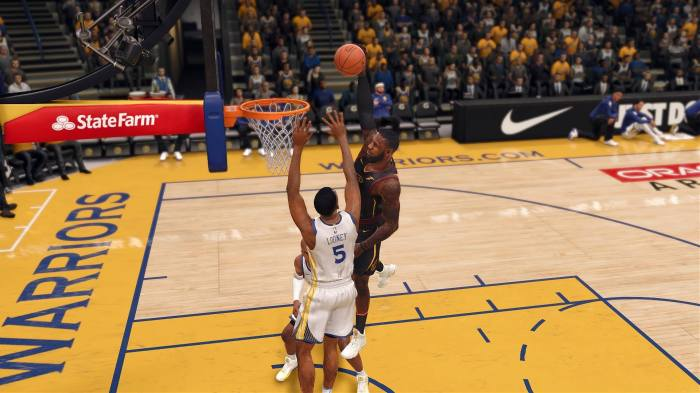 faca5ab584f0d Sim Life with  NBA LIVE 18   Cavs at Warriors