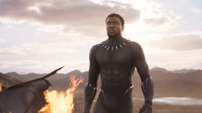Marvel Studios' BLACK PANTHER..T'Challa/Black Panther (Chadwick Boseman)..Ph: Film Frame..©Marvel Studios 2018