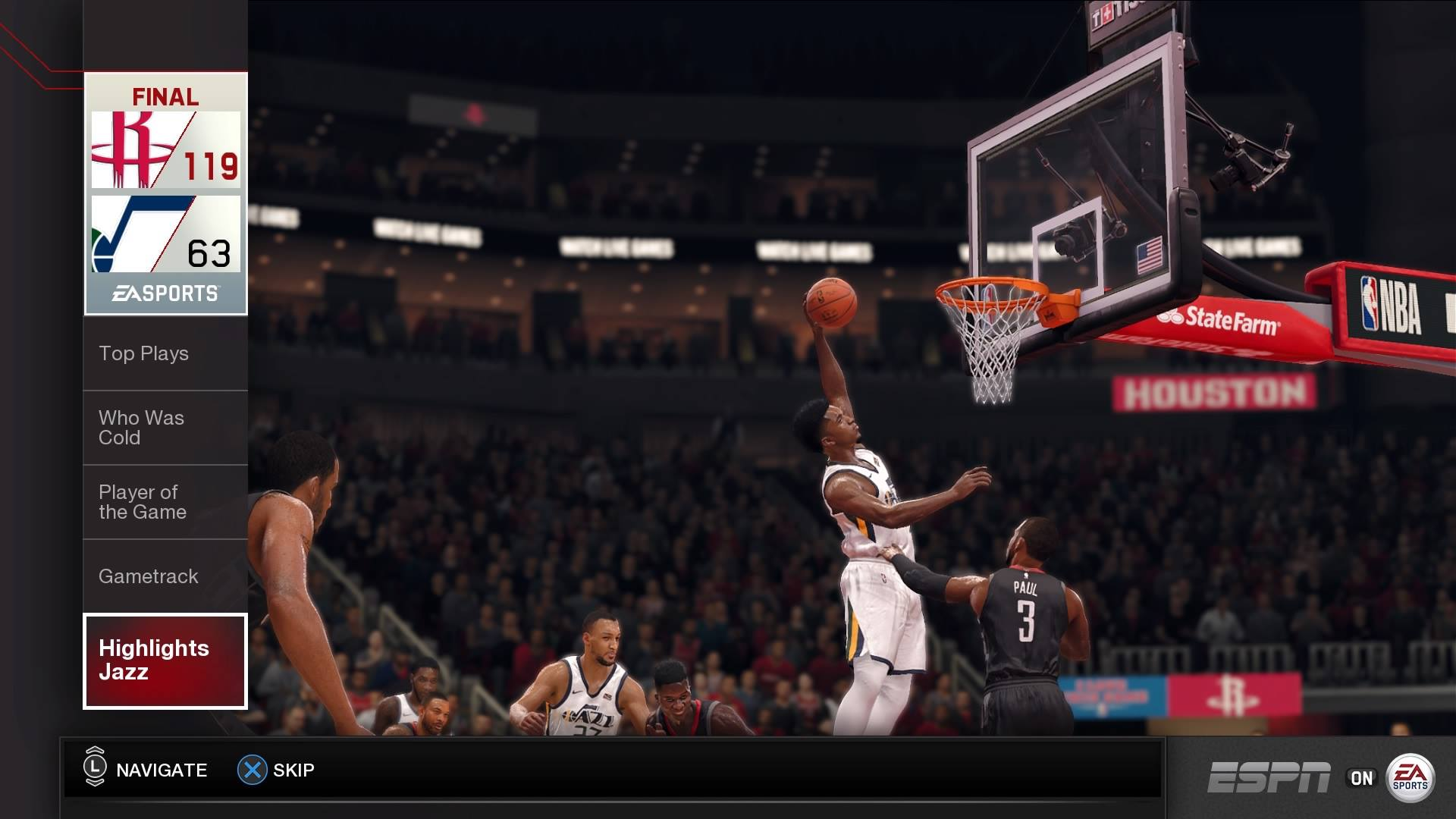 Sim Life with 'NBA LIVE 18': Jazz at Rockets, Pelicans at Warriors — The Undefeated