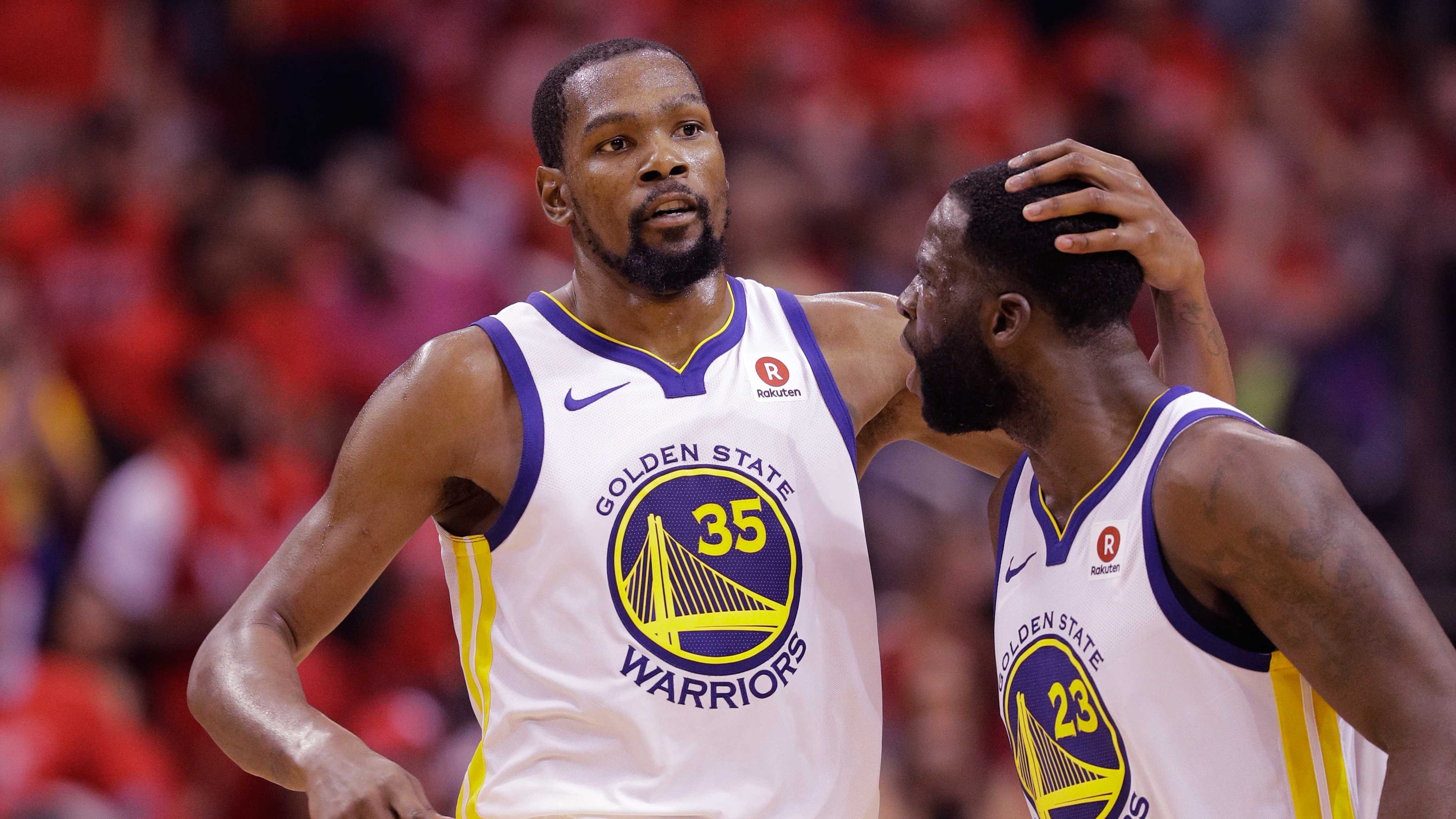 Kevin Durant,Draymond Green