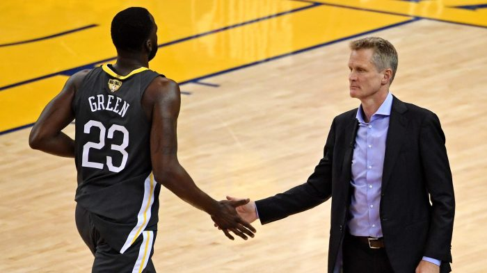 NBA  Finals-Cleveland Cavaliers at Golden State Warriors Golden State  Warriors head coach Steve Kerr ... 2982a67ad
