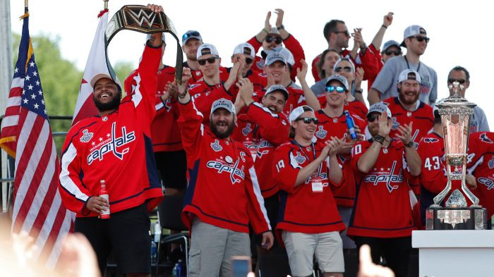 16 x 9 NHL: Washington Capitals-Stanley Cup Championship Parade