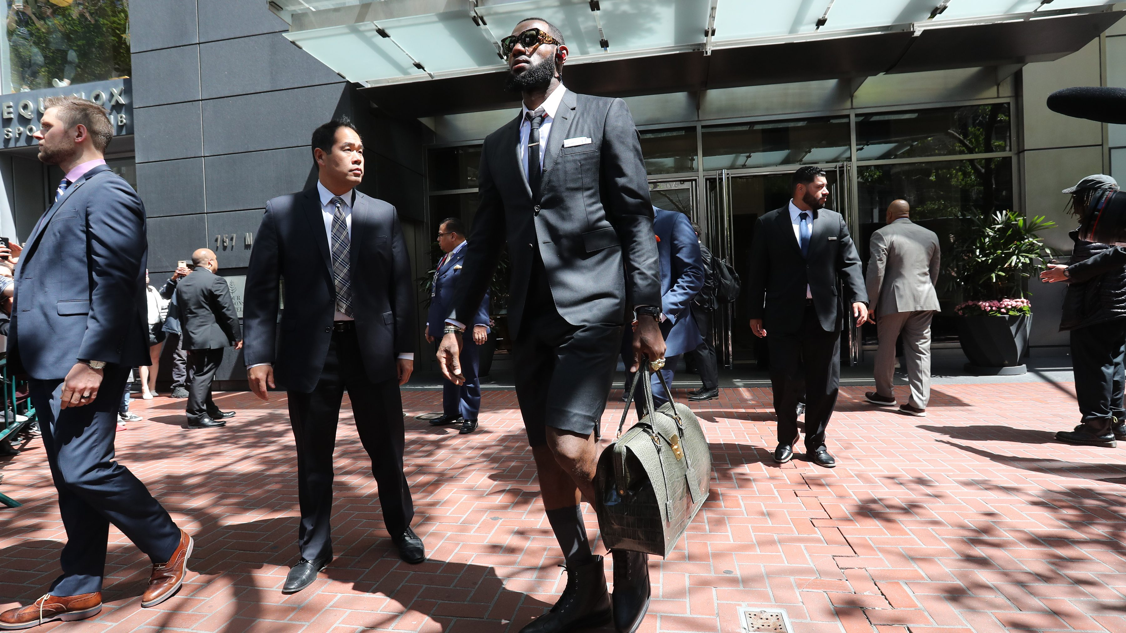 Lebron James Game 1 Outfit And Accessories Cost More Than 45 000