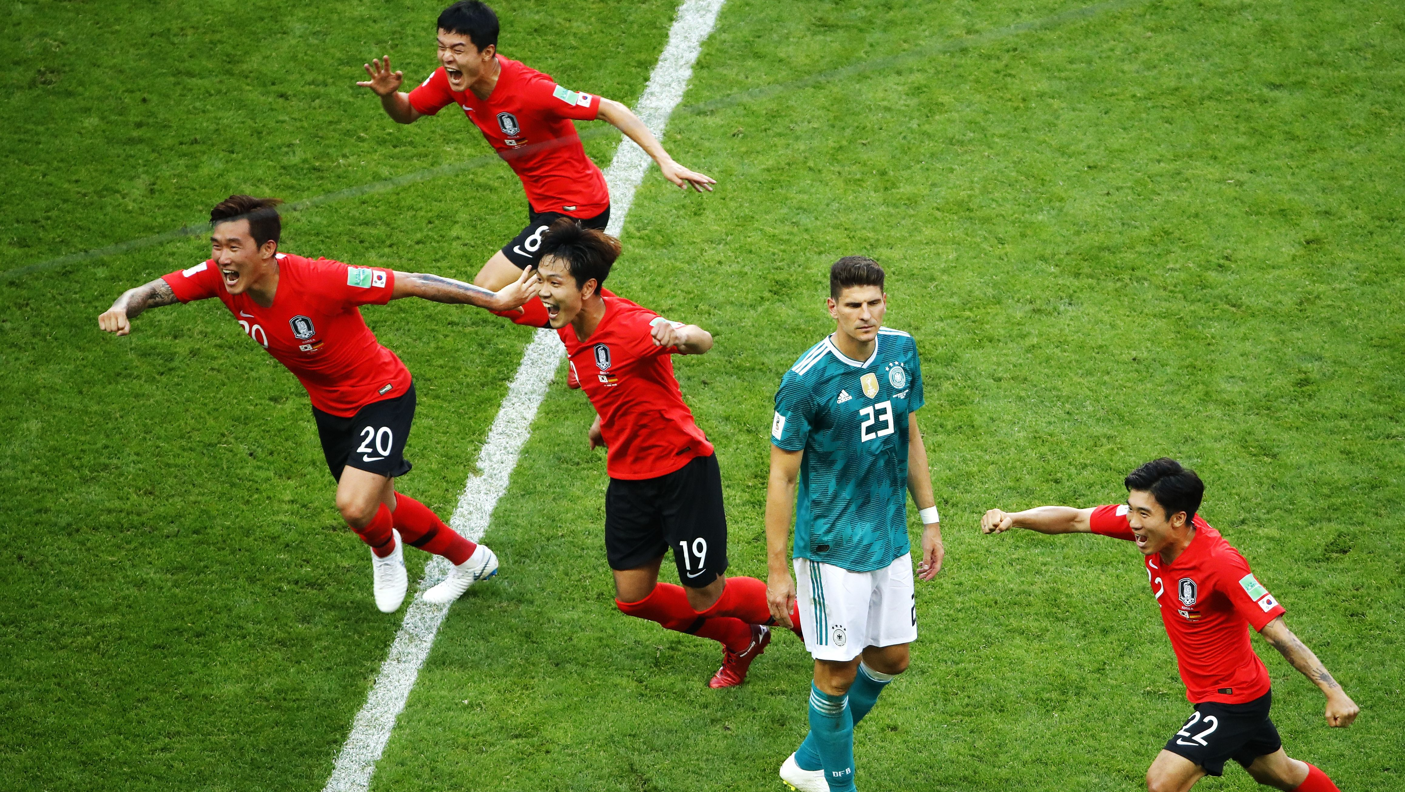 Group F South Korea vs Germany, Kazan, Russian Federation – 27 Jun 2018