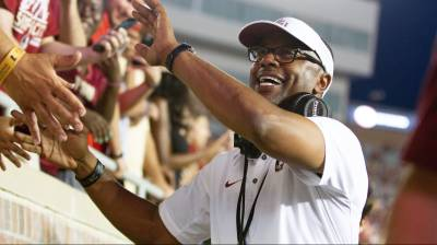FSU coach Willie Taggart buys lunch for local football campers de1c4f789
