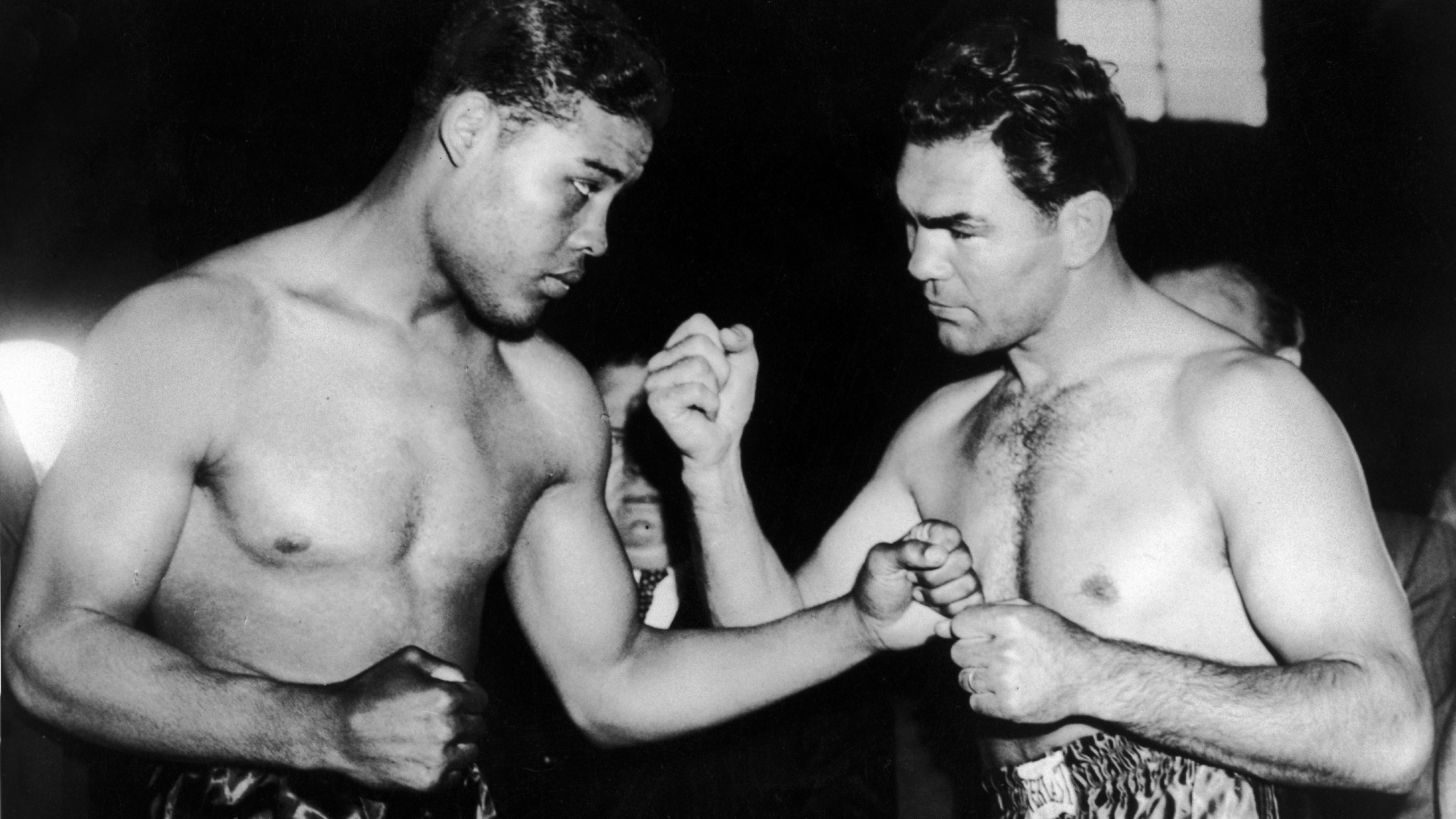 Joe Louis And Max Schmeling In The Ring, New York 1938