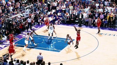 Michael Jordan's game winner v. Utah Jazz