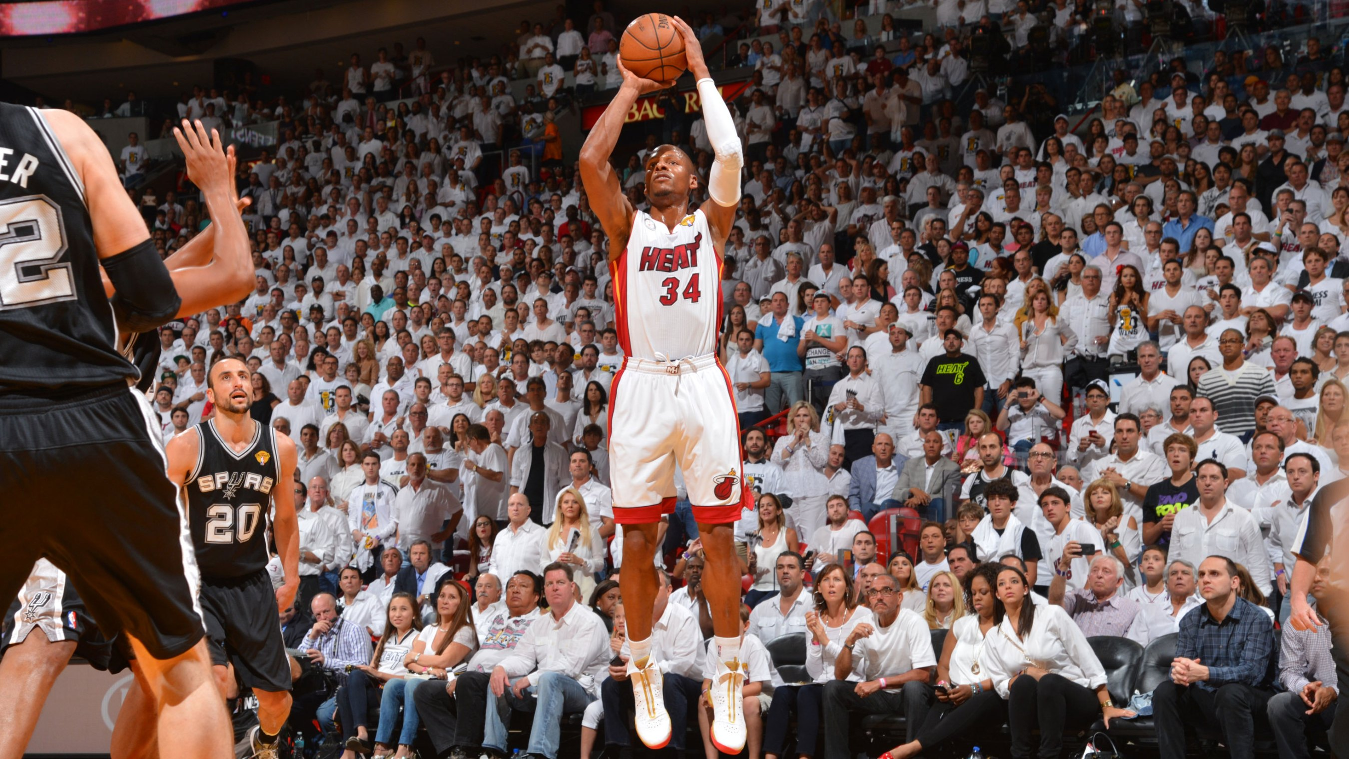 best cheap f0093 5d917 The day Chris Bosh s rebound and Ray Allen s 3-pointer gave the Heat an  improbable Finals win