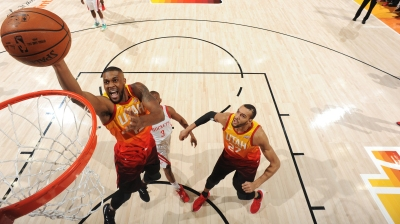 Houston Rockets v Utah Jazz – Game Three