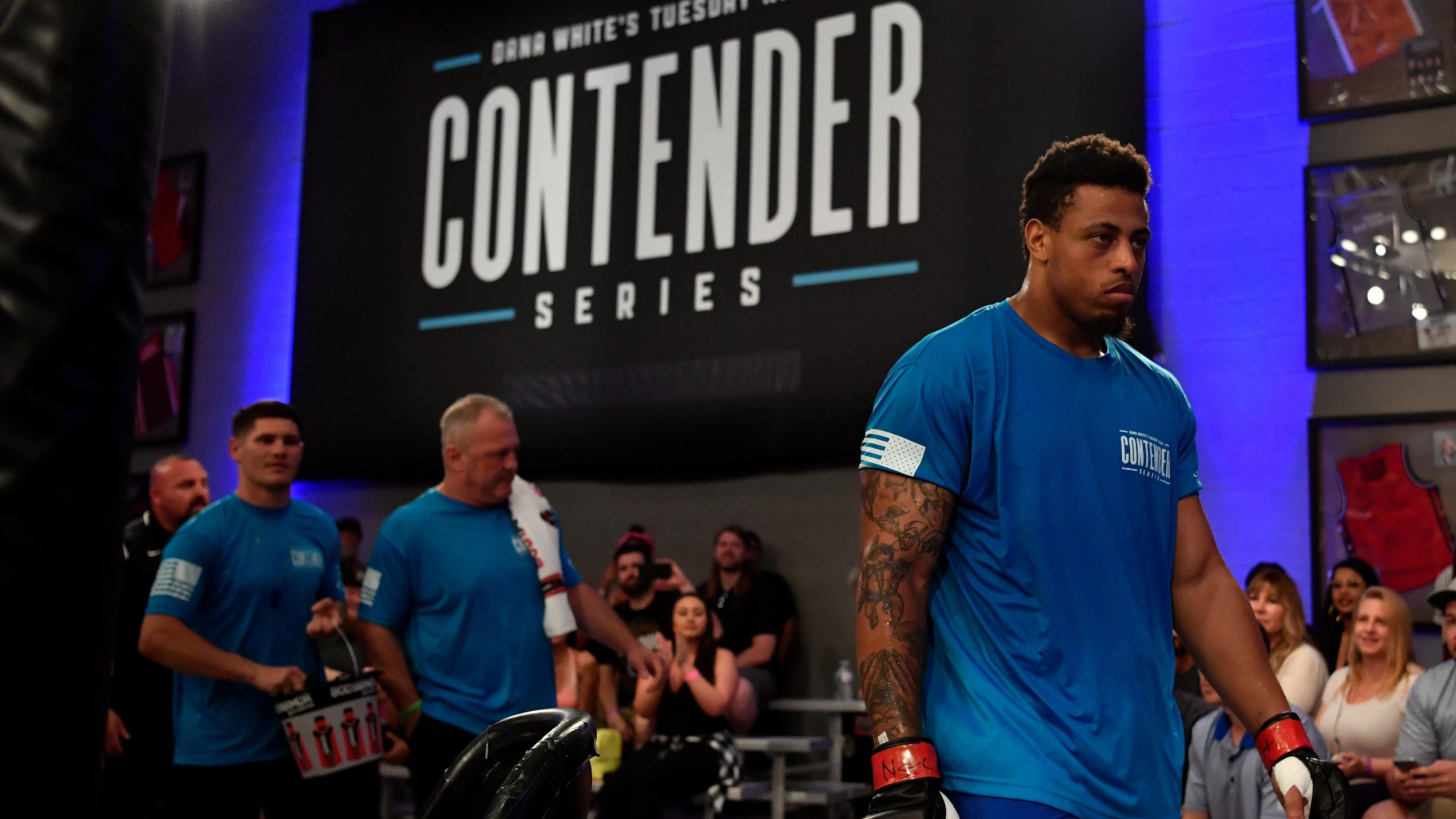 Dana White's Tuesday Night Contender Series: Hardy v Lane