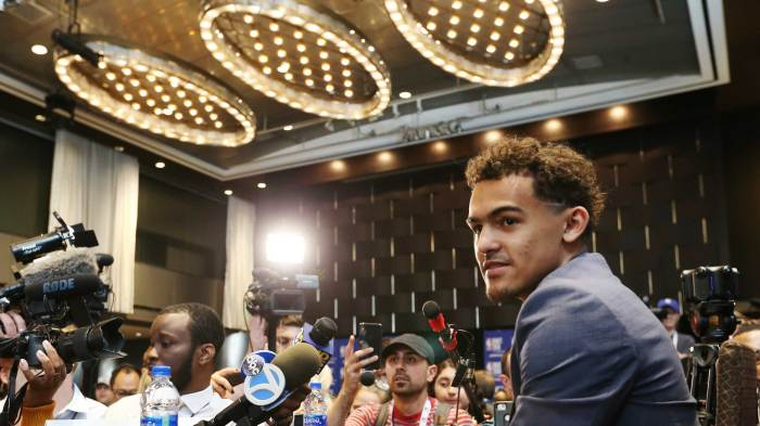 4279eb9b4 Four hours with Trae Young ahead of NBA draft