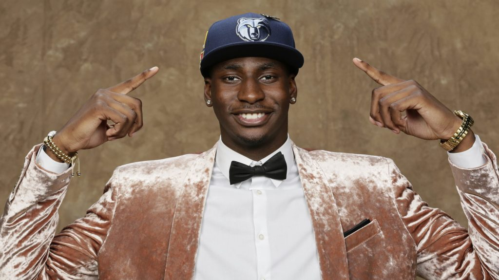 610967dfc5d Jaren Jackson Jr. says he s ready for some barbecue and the Grizzlies    grit and grind