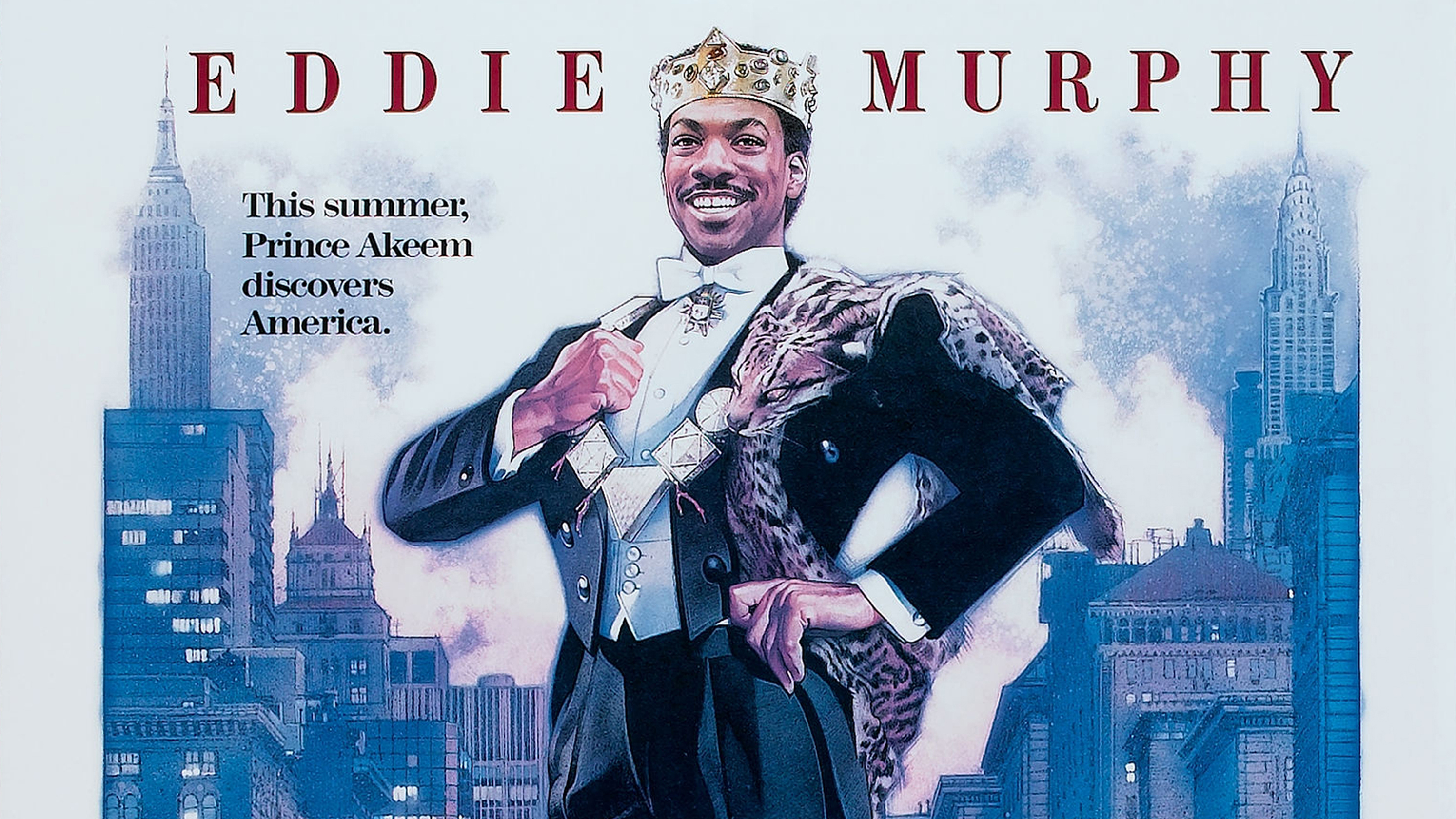 Movie Poster For 'Coming To America'