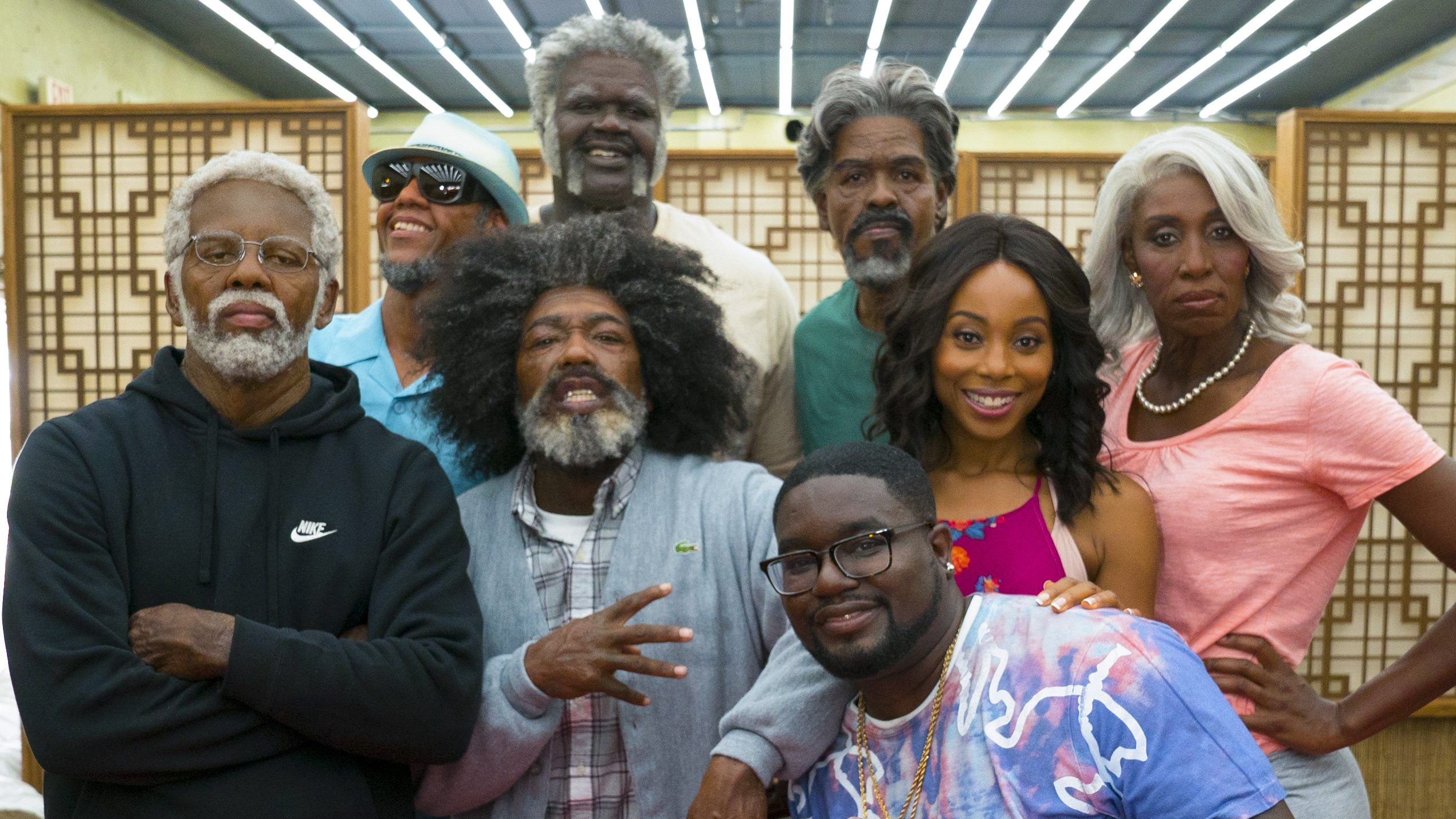 The \u0027Uncle Drew\u0027 star,studded cast spills behind,the,scenes