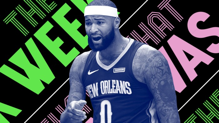 a188dea4a5c9c DeMarcus Cousins ruined the NBA and other news of the week