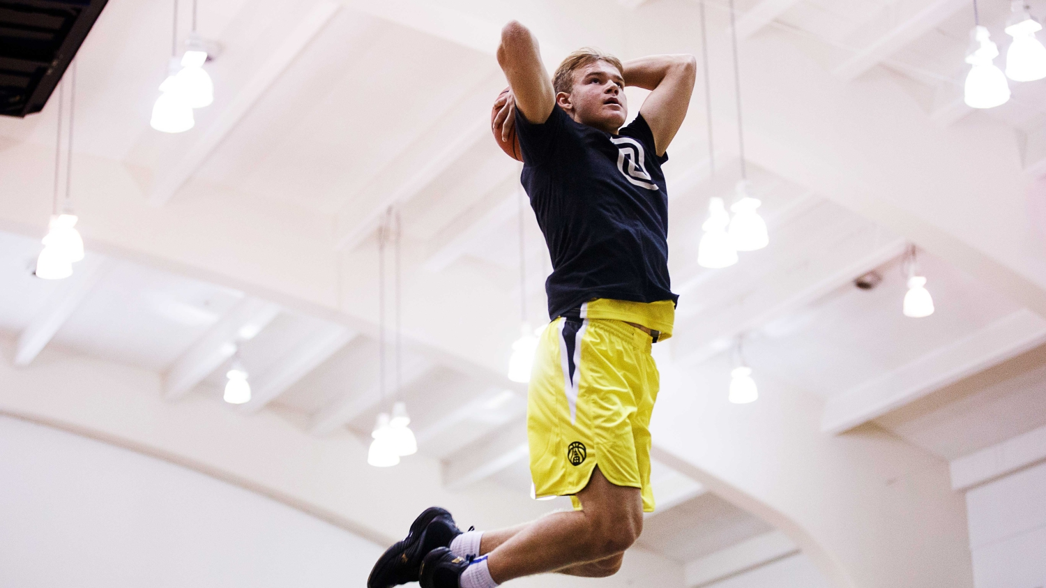 Georgetown freshman Mac McClung is electrifying, dynamic — and white