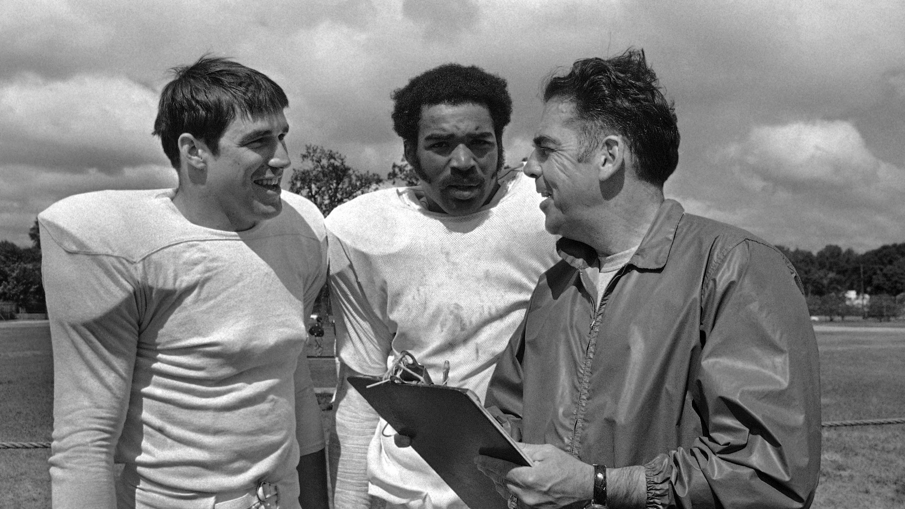 Otto Graham, Ted Koy, Ray Chester