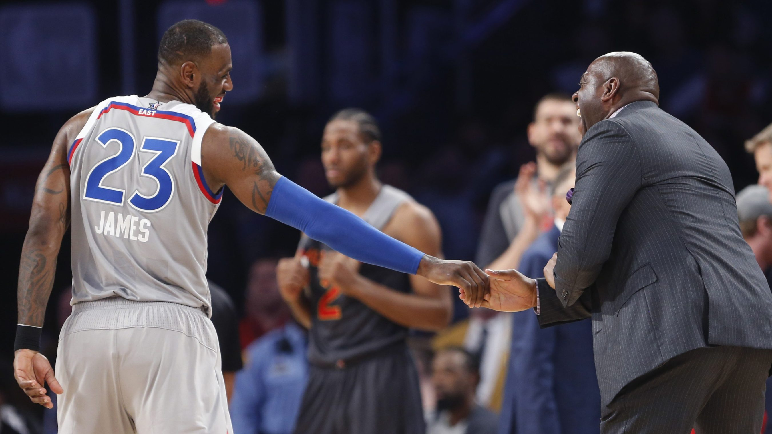watch 344e4 11793 LeBron, Magic and black power in Los Angeles