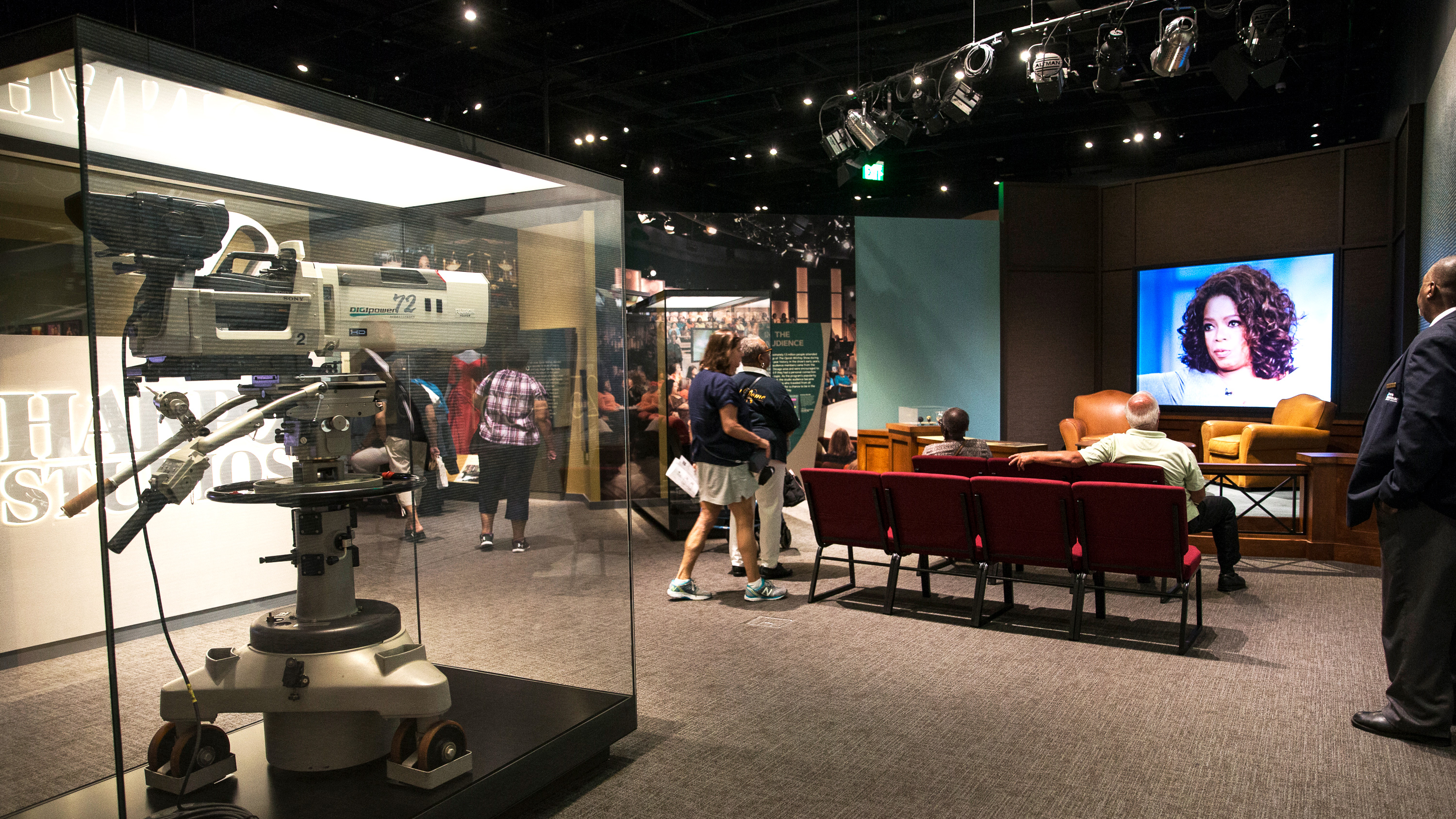 """""""Watching Oprah: The Oprah Winfrey Show and American Culture"""" is a new exhibition at the National Museum of African American History and Culture."""