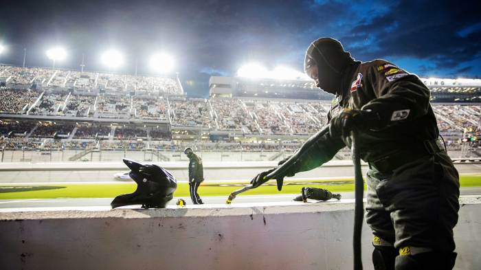 Brehanna Daniels says mom is looking down from heaven as she makes NASCAR history