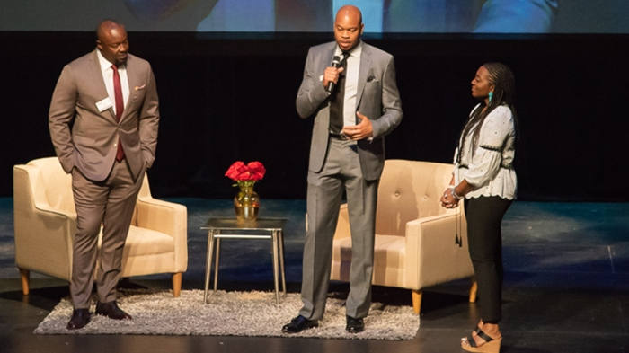 ad712a26b8804 Kevin Garnett, Devean George and Charles Johnson honored for their  charitable efforts