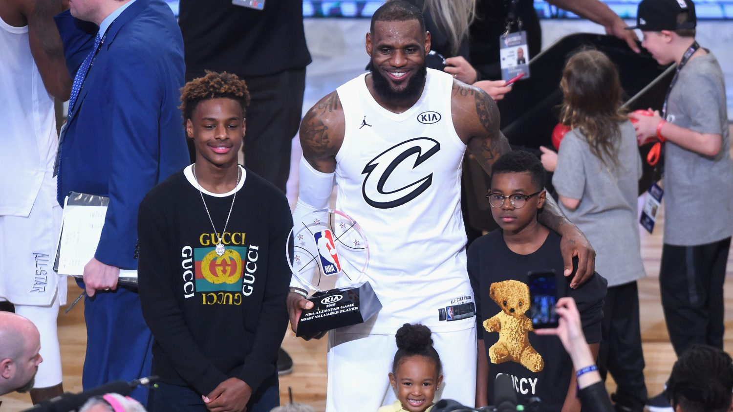 a55463e6f6 LeBron James' 'regret' about his son's name is more than a sound bite