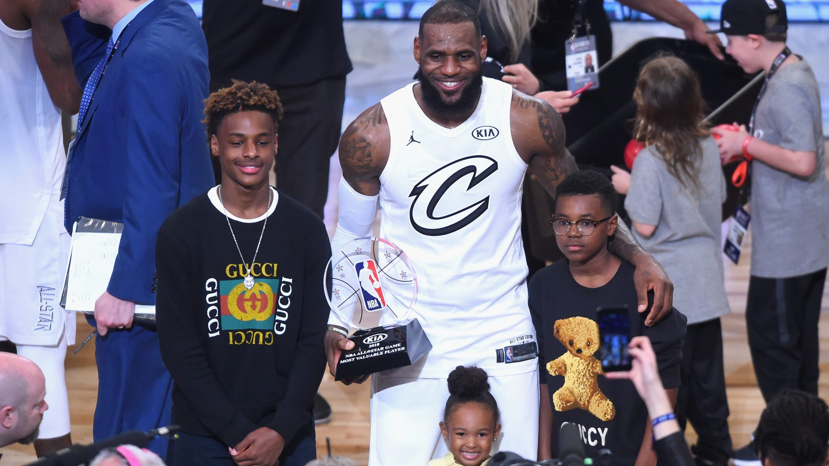 innovative design 9d2ca b8d83 LeBron James   regret  about his son s name is more than a sound bite