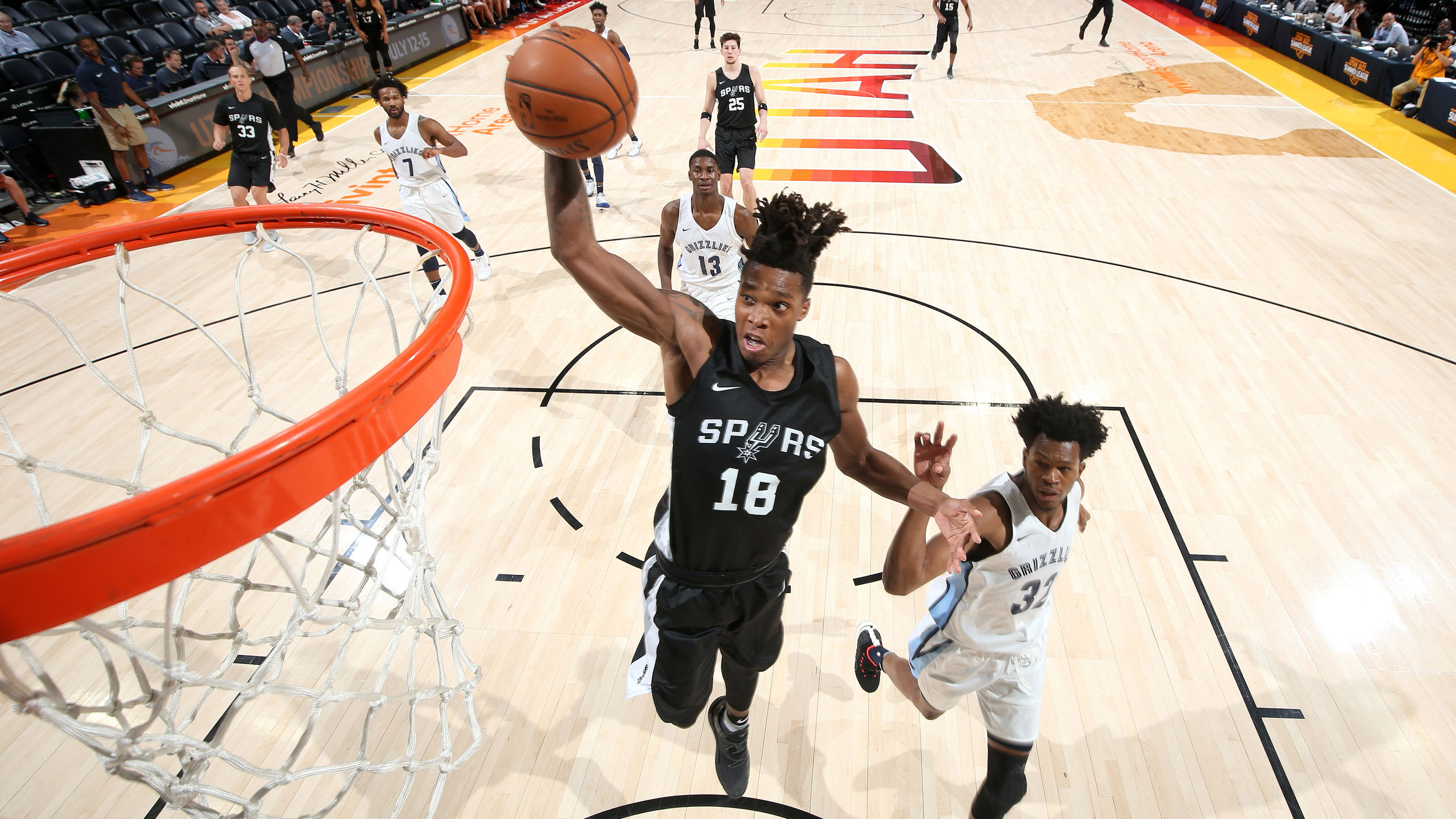 2018 Utah Summer League – Memphis Grizzlies v San Antonio Spurs