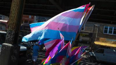 Immigrant transgender march in Queens