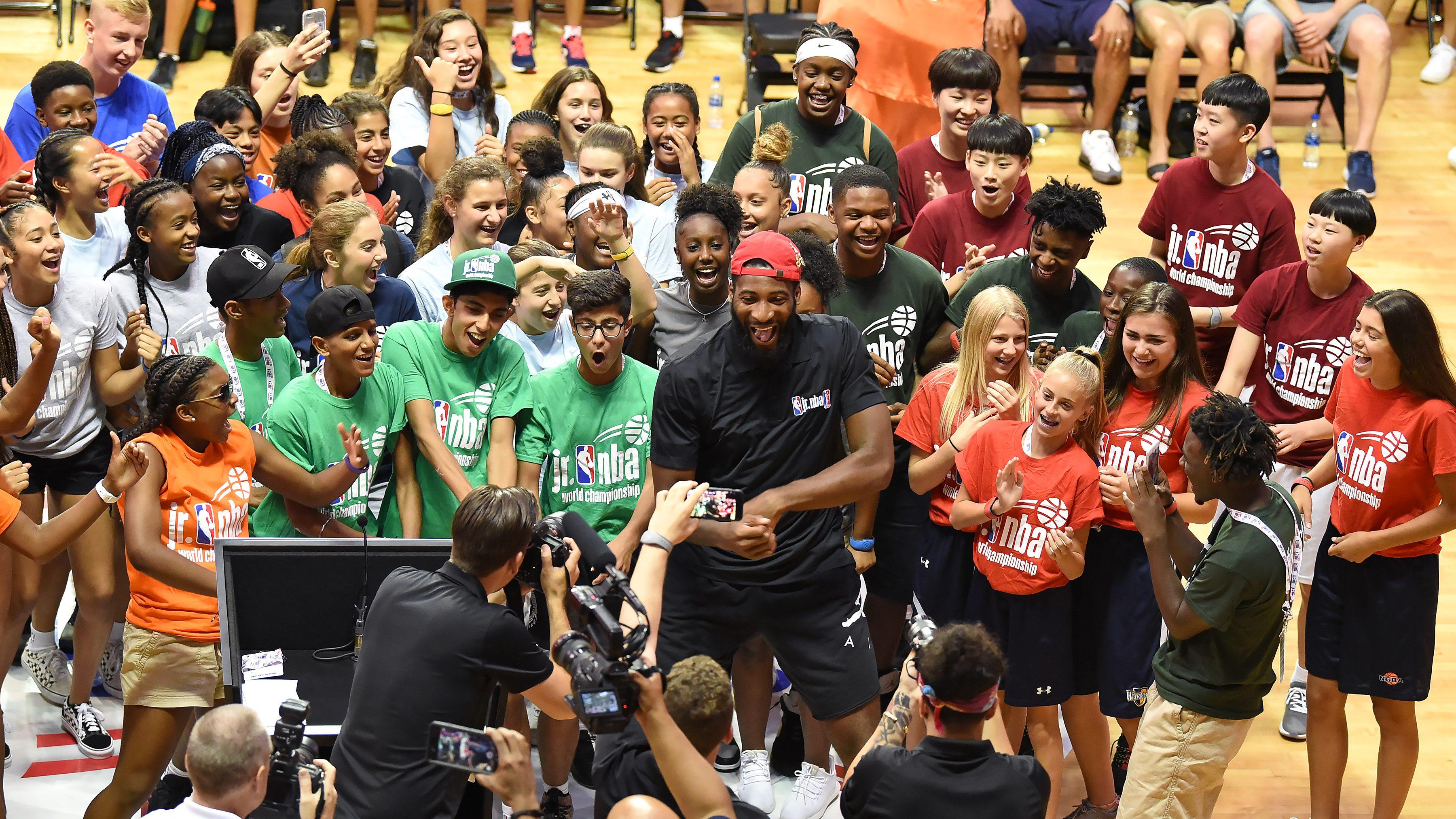 Jr. NBA World Championships – Tip Off Ceremony