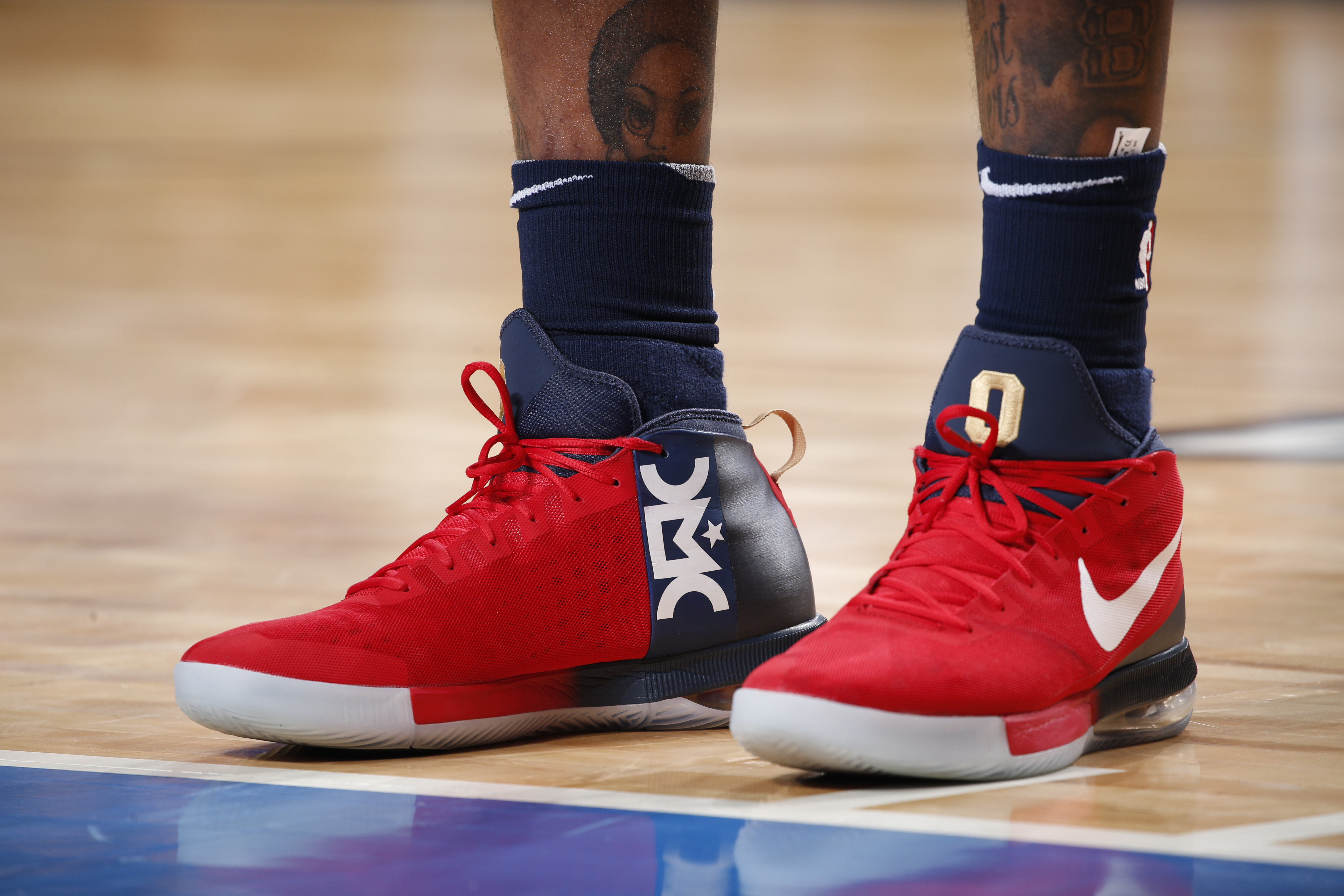 Remy ma and nicki minaj and the diss record heard round the world the sneakers worn by new orleans pelicans center demarcus cousins during a game against the dallas mavericks on nov 3 2017 malvernweather Images