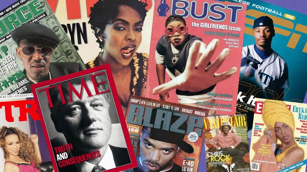 1481b8422c Missy Elliott, Ken Griffey Jr., Erykah Badu, Michael Jordan and more: 10  amazing magazine covers from 1998