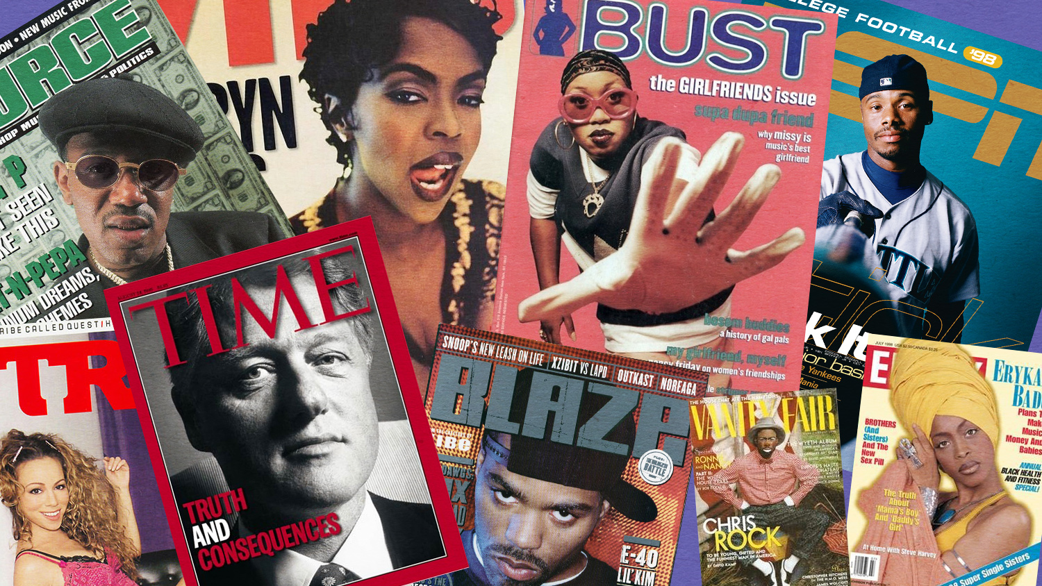 1ff7a2c3963c Missy Elliott, Ken Griffey Jr., Erykah Badu, Michael Jordan and more: 10  amazing magazine covers from 1998