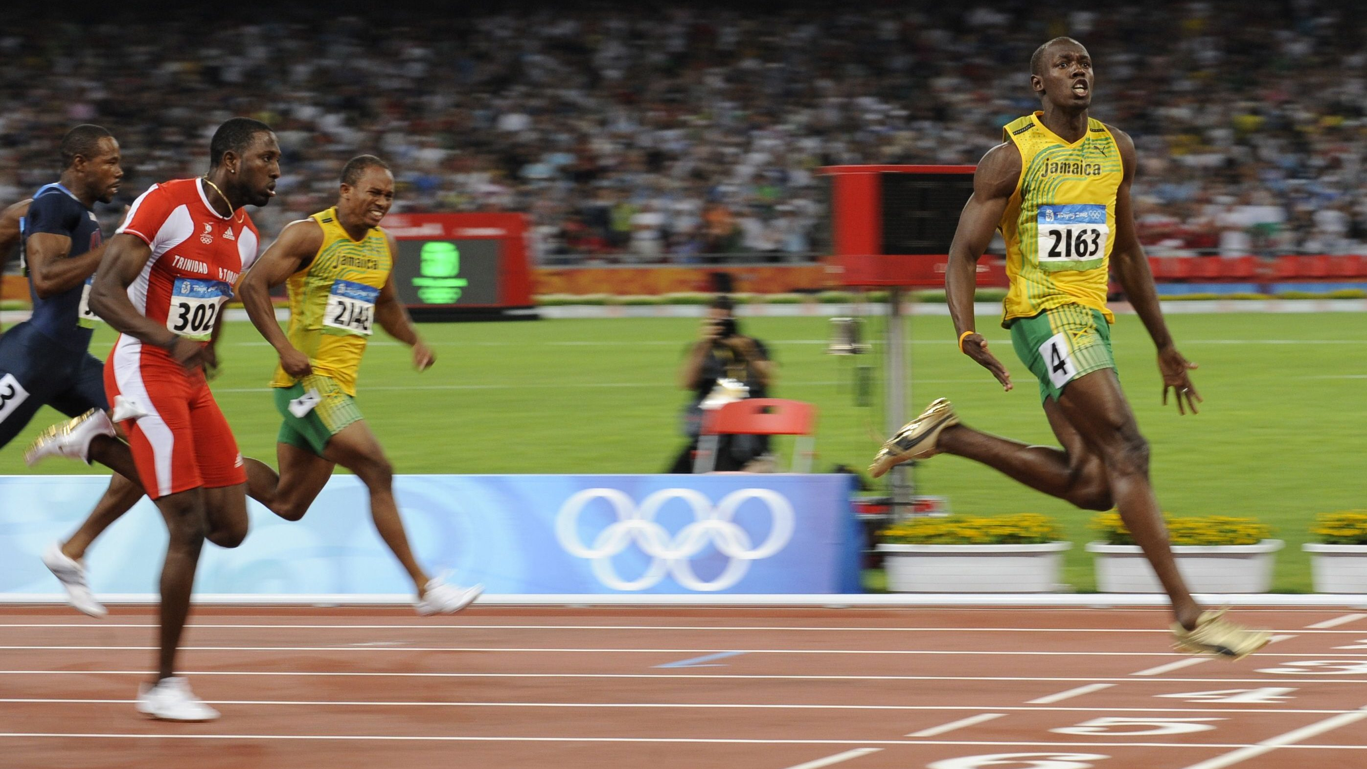 The day Usain Bolt won his first Olympic gold medal