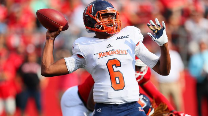 COLLEGE FOOTBALL: SEP 16 Morgan State at Rutgers