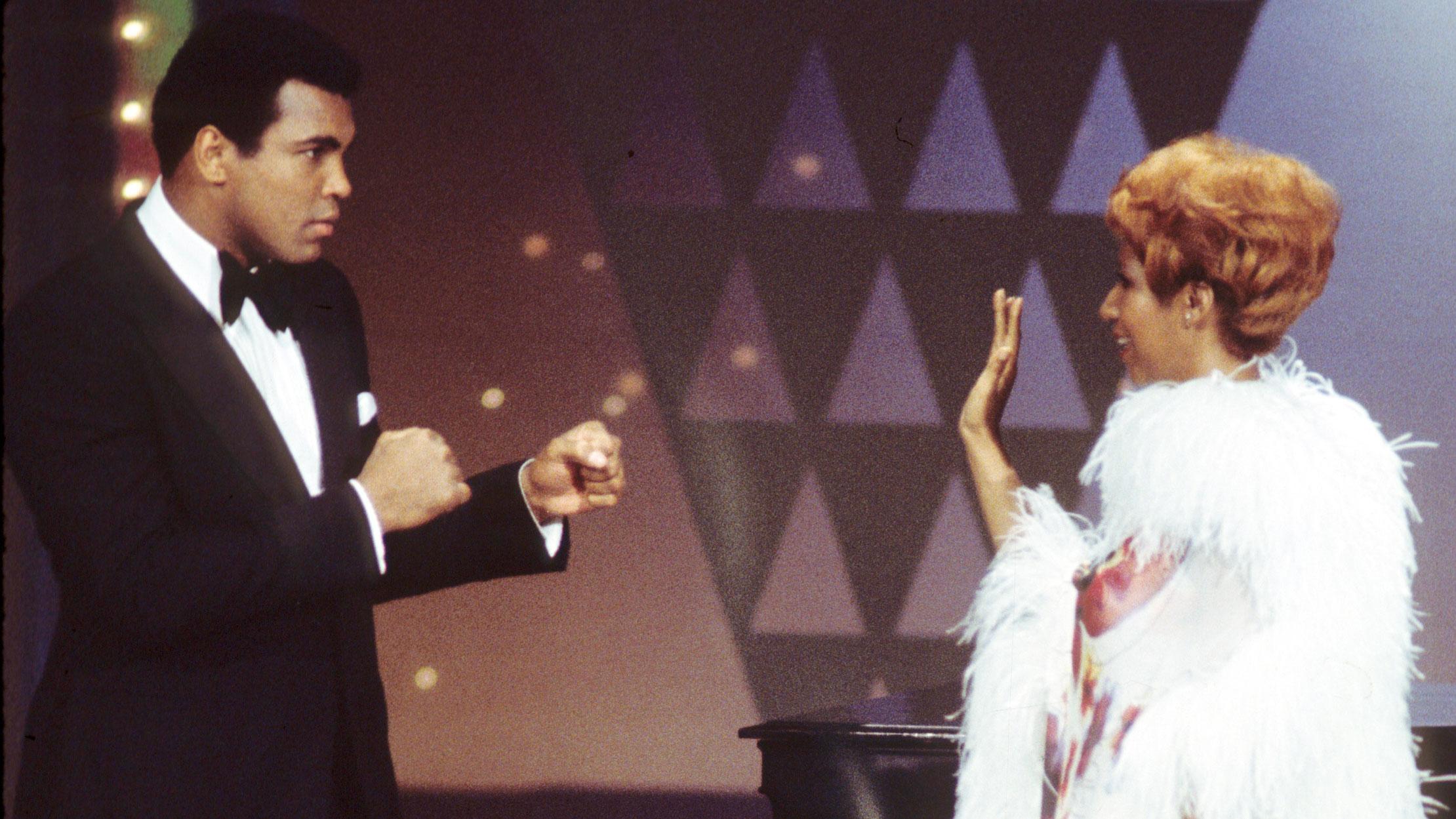 Muhammad Ali And Aretha Franklin On Muhammad Ali Variety Special