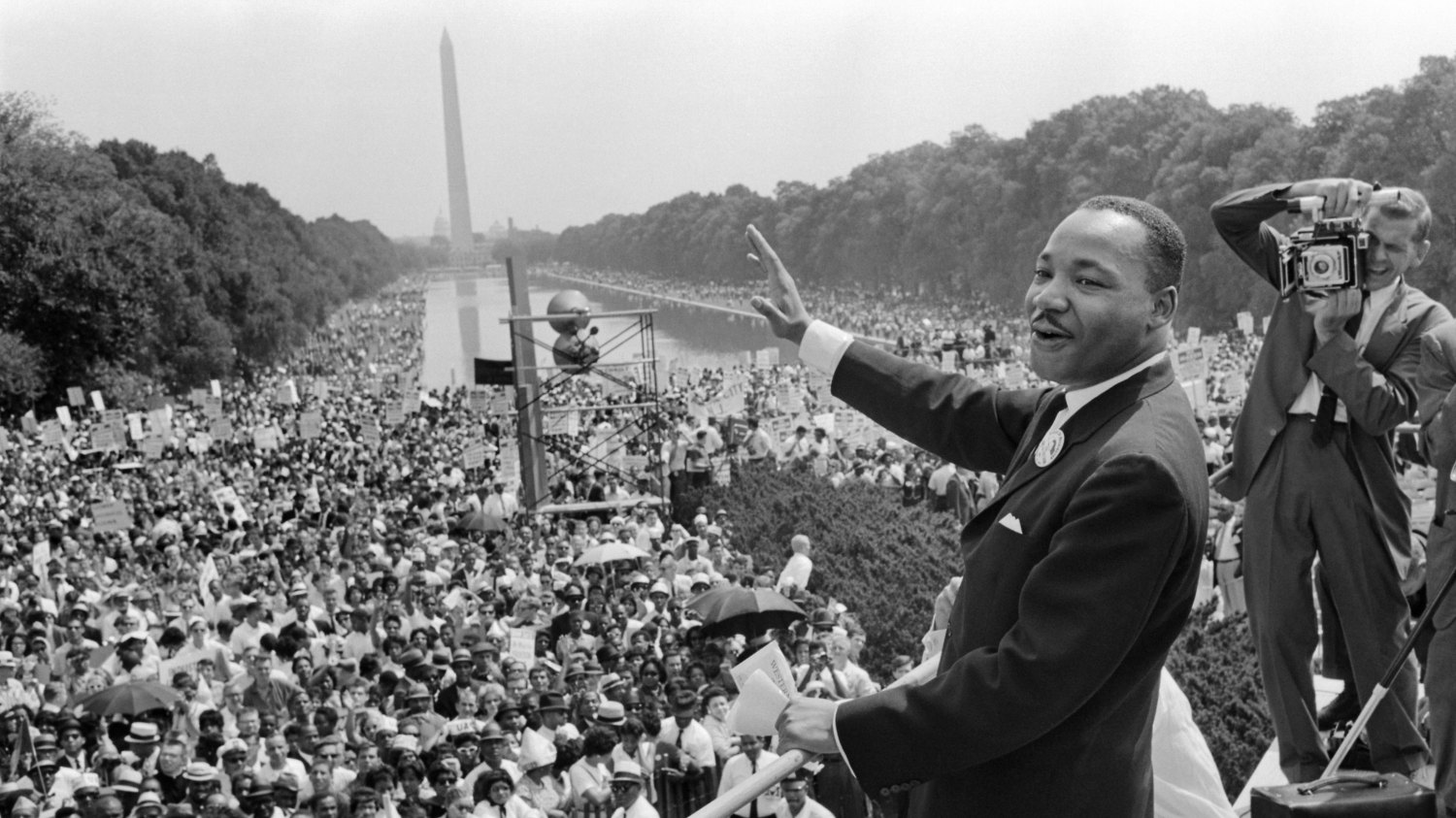 On the 55th anniversary of the March on Washington, a visit