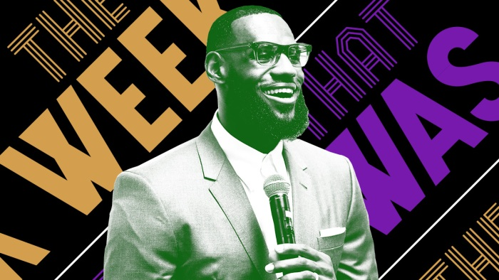 0c9fbdc30 LeBron James opened a school and other news of the week